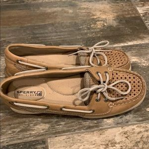 Sperry shoes - tan, size 6.5